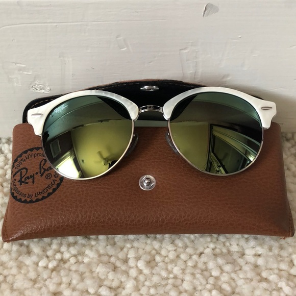 Ray-Ban Accessories   Rayban Mother Of Pearl Clubmaster Sunglasses ... de42da301d78